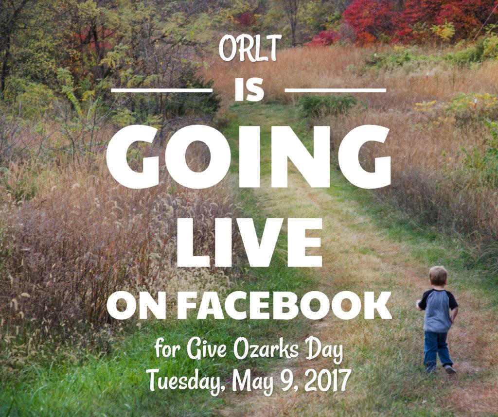 ORLT Give Ozarks Facebook Live 2017