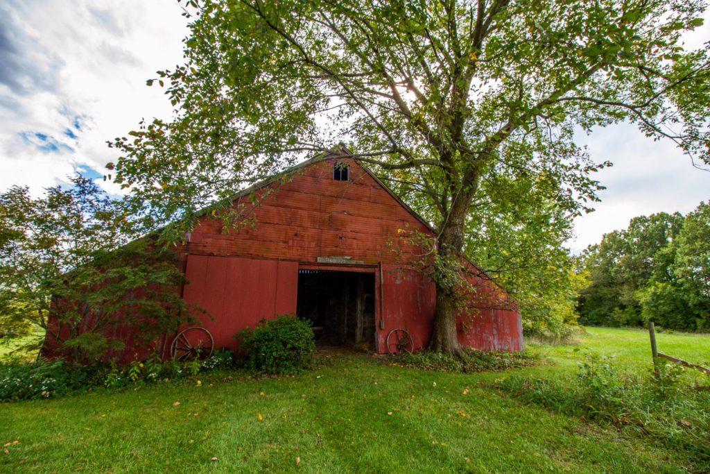 old barn near New Melle MO